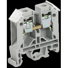 Зажим наборный ЗНИ-10мм2 (JXB70А) серый | YZN10-010-K03 | IEK