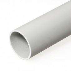 Труба жесткая гладкая ПВХ 25мм тяжёлая 3м (120м/уп) | 0425 | Промрукав