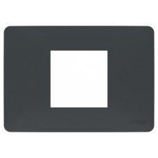 Unica Studio Modular Антрацит Рамка 2-мод.   NU210254   Schneider Electric