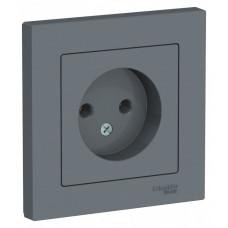 AtlasDesign Грифель Розетка б/з, 16А, (в сборе с рамкой)   ATN000740   Schneider Electric