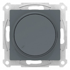 AtlasDesign Грифель Светорегулятор (диммер) поворотно-нажимной, 315Вт, мех.   ATN000734   Schneider Electric