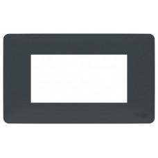 Unica Studio Modular Антрацит Рамка 4-мод.   NU210454   Schneider Electric
