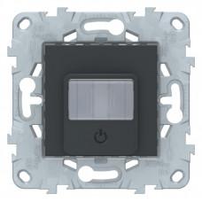 Unica New Антрацит Датчик движения с выключателем, 10А | NU552554 | Schneider Electric