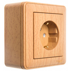 Wessen 59 Бук Коробка 1-ая подъемная для наружного монтажа с рамкой | KP-152-88 | Schneider Electric
