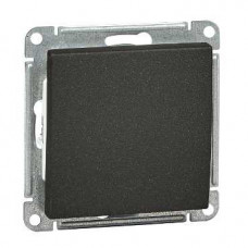 Wessen 59 Черный бархат Переключатель 1-клавишный 16А, 10АХ | VS610-156-6-86 | Schneider Electric