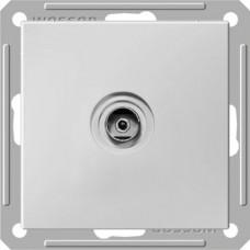 Wessen 59 Матовый хром Розетка TV оконечная | RTS-151-5-86 | Schneider Electric