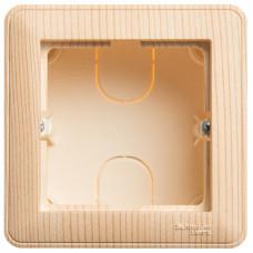 Wessen 59 Сосна Коробка 1-ая подъемная для наружного монтажа с рамкой | KP-152-78 | Schneider Electric