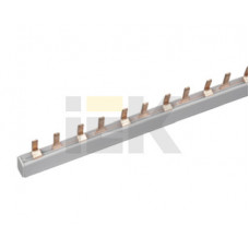Шина соединительная типа PIN (штырь) 2Р 63А (дл.1м) | YNS21-2-063 | IEK