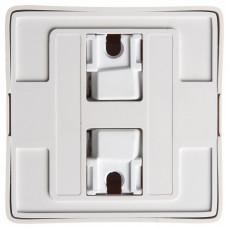 ХИТ О/У с изол. пласт. Белый Розетка с/з со шторками, 16А, 250В | RA16-138I-B | Schneider Electric