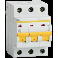 Выключатель автоматический трехполюсный ВА47-29 25А C 4,5кА   MVA20-3-025-C   IEK