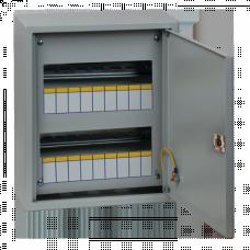Щит распред. навесн. типа ЩРН-18 IP31 пласт. замок(350х300х120) EKF PROxima | mb21-18n | EKF