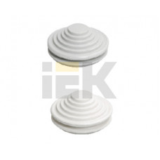 Сальник d= 25мм (Dотв.бокса 27мм) серый   YSA40-25-27-68-K41   IEK