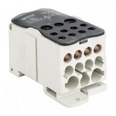 Блок распределительный (КБР) на DIN-рейку и монтажную панель 500A EKF PROxima | plc-kbr500 | EKF