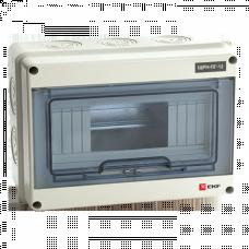 Щит распределительный навесной ЩРН-ПГ-12 IP65 (198х254х106) EKF PROxima | pb65-n-pg-12 | EKF