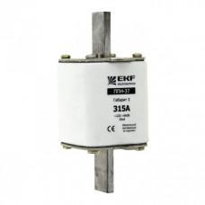 Плавкая вставка ППН-37 400/200А габарит 2 EKF PROxima | fus-37/400/200 | EKF