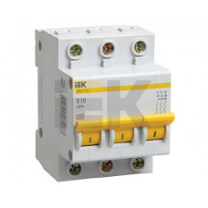 Выключатель автоматический трехполюсный ВА47-29 16А C 4,5кА   MVA20-3-016-C   IEK