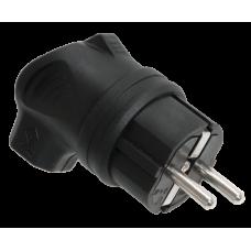 ВБу3-1-0м Вилка с боковым вводом ОМЕГА IP44 | PKR01-U-016-2-K02 | IEK