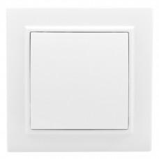 Минск Выключатель 1-клавишный СП,10А, белый EKF Basic | ERV10-021-10 | EKF