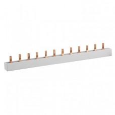 Шина соединительная типа PIN для 3-ф нагр. 63А 12 мод. EKF PROxima | pin-03-63-12 | EKF