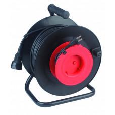 Удлиннитель силовой RP-1-2x1.0-30m пласт. катушка без заземл. 30м 1гн 2х1мм2 (2/48) |Б0001675 | ЭРА