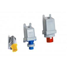 Вилка для монтажа на поверхность 416BS6W, 16A, 3P+N+E, IP67, 6ч | 2CMA167078R1000 | ABB