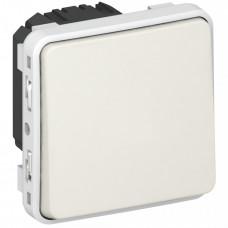 Plexo Белый Переключатель 1-клавишный IP55 | 069611 | Legrand