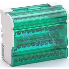 Кросс-модуль на DIN-рейку 4х11 групп, 125А ШН-103 | 32018DEK | DEKraft