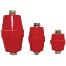 Изолятор SM76 силовой H76xD50xM10мм с болтом | SQ0807-0012 | TDM