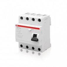 Выключатель дифференциальный (УЗО) FH204AC-25/0.03 25А 30мА | 2CSF204004R1250 | ABB