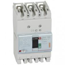 Автоматический выключатель DPX3 160 - термомагнитный расцепитель - 25 кА - 400 В~ - 3П - 25 А   420041   Legrand