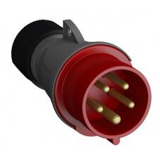 Вилка кабельная Easy&Safe 416EP6,16А,3P+N+E,IP44,6ч|2CMA101967R1000| ABB