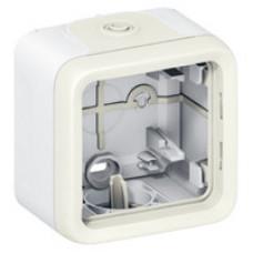 Plexo Белый Коробка 1-ая для наружного монтажа IP55 | 069689 | Legrand