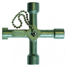 Ключ универсальный для распределительного шкафа, 72х72 мм | 110696 | Haupa