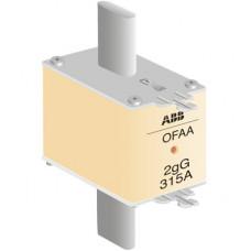 ПРЕДОХРАНИТЕЛЬ OFAF2H315 315A тип gG размер2 до 500В | 1SCA022627R6010 | ABB