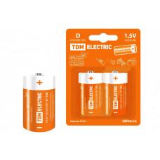 Элемент питания LR20 D Alkaline 1,5V BP-2 | SQ1702-0012 | TDM