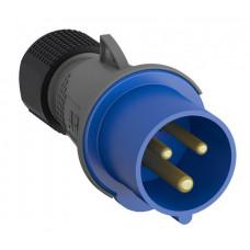 Вилка кабельная Easy&Safe 216EP6,16А,2P+E,IP44,6ч|2CMA101947R1000| ABB