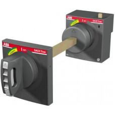Рукоятка поворотная на дверь для выключателя стационарного/втычного исполнения RHE XT1-XT3 F/P | 1SDA066479R1 | ABB