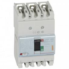 Автоматический выключатель DPX3 160 - термомагнитный расцепитель - 25 кА - 400 В~ - 3П - 40 А   420042   Legrand