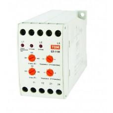 Реле контроля фаз ЕЛ-11М-3х380В (1нр+1нз контакты)   SQ1504-0014   TDM