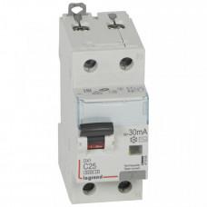 Выключатель автоматический дифференциальный DX3 1п+N 25А C 30мА тип AC | 411004 | Legrand