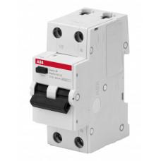 Выключатель автоматический дифференциальный BMR415C06 1п+N 6А C 30мA тип AC   2CSR645041R1064   ABB