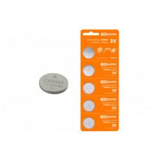 Элемент питания CR2032 Lithium 3V BP-5 | SQ1702-0029 | TDM