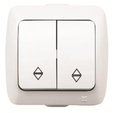 Выключатель 2кл ПРОХ. бел. ALSU EL-BI | 504-010200-211 | ABB