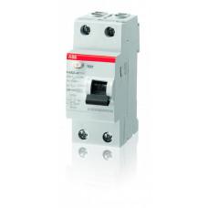 Выключатель дифференциальный (УЗО) FH202AC-25/0.03 25А 30мА | 2CSF202004R1250 | ABB