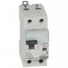 Выключатель автоматический дифференциальный DX3 1п+N 10А C 30мА тип AC | 411000 | Legrand