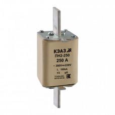 Вставка плавкая ПН2-250-250А-У3   110883   КЭАЗ