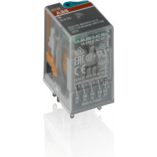Реле CR-M024DC4 24B DC 4ПК (6A) | 1SVR405613R1000 | ABB