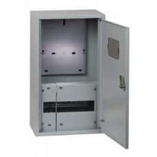 Щит учетно-распределительный навесной ЩРУН 1/9 с окном IP31 (400х300х140) EKF Basic | mb23-1/9-bas | EKF