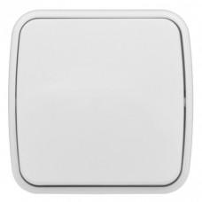 Минск Выключатель 1-клавишный ОП 10А белый EKF Basic | EGV10-021-10 | EKF