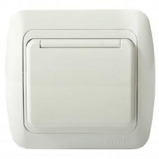 Розетка c защитной крышкой с/з бел/бел TUNA EL-BI   502-000202-218   ABB